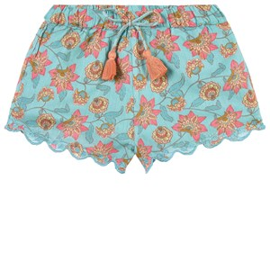 Image of Louise Misha Vallaloid Shorts Turquoise Flowers 18 mdr (1831608)