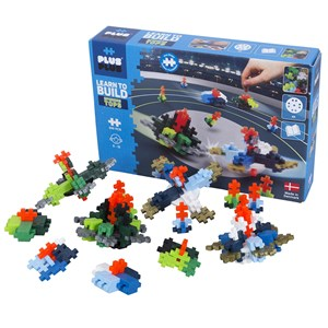 Plus-Plus 240 dele Plus-Plus® Learn to Build Spinning Tops Byggesæt 7 - 12 years