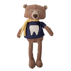 Bloomingville Harry the Tooth Fairy Soft Toy Brown