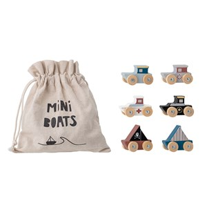 Image of Bloomingville 6-Pack Lissen Boats one size (1859846)