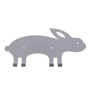 Image of Marnelly Rabbit Wall Hook Gray 12 months - 12 years (1769500)