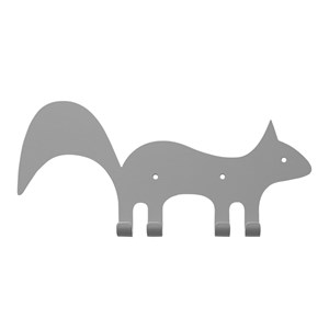 Image of Marnelly Squirrel Wall Hook Gray 12 months - 12 years (1769502)