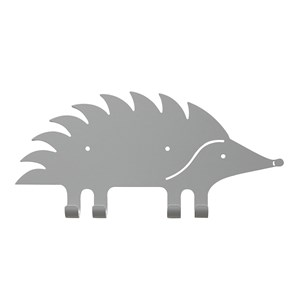 Image of Marnelly Hedgehog Wall Hook Gray 12 months - 12 years (1769504)
