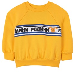 Mini Rodini Moscow Sweatshirt Yellow