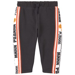 Mini Rodini Moscow Sweatpants Black