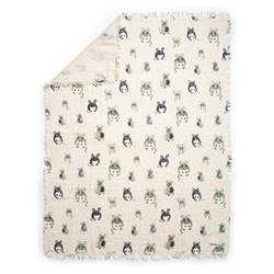 Elodie Soft Cotton Blanket Forest Mouse