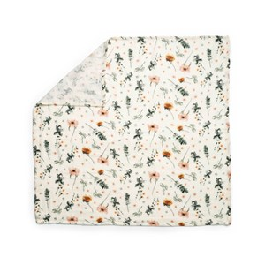 Image of Elodie Bamboo Muslin Blanket Meadow Blossom one size (1856211)