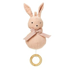 Elodie Music Mobile Powder pink Bunny Belle