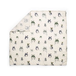 Image of Elodie Bamboo Muslin Blanket Forest Mouse one size (1856210)