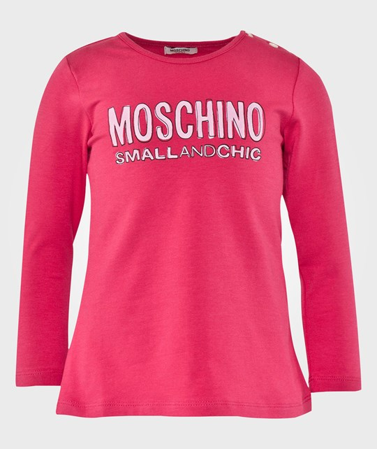 Moschino Baby Long Sleeves T Shirt Azzela Pink