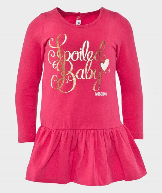 Moschino Baby Dress Azzalea Pink