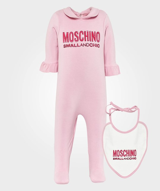 Moschino Baby Rompers Pink Loto Pink