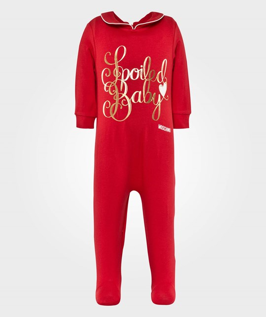 Moschino Baby Rompers Heart Red Pink