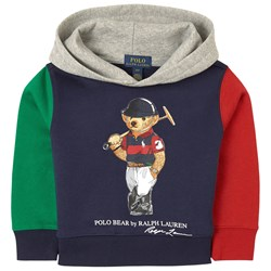 Ralph Lauren Polo Bear Fleece Hoodie Navy