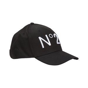 Image of N°21 Logo Cap Black 12-16 years (1798519)