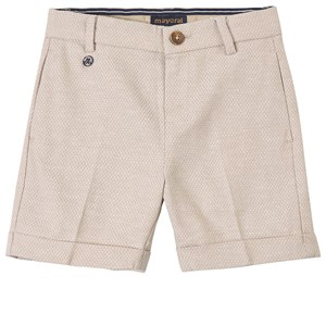 Image of Mayoral Jacquard Shorts Beige 4 år (1842455)