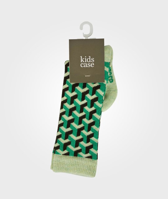 Kidscase Organic Baby Knee High Green Multi Green
