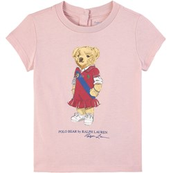 Ralph Lauren Preppy Bear T-Shirt Hint of Pink