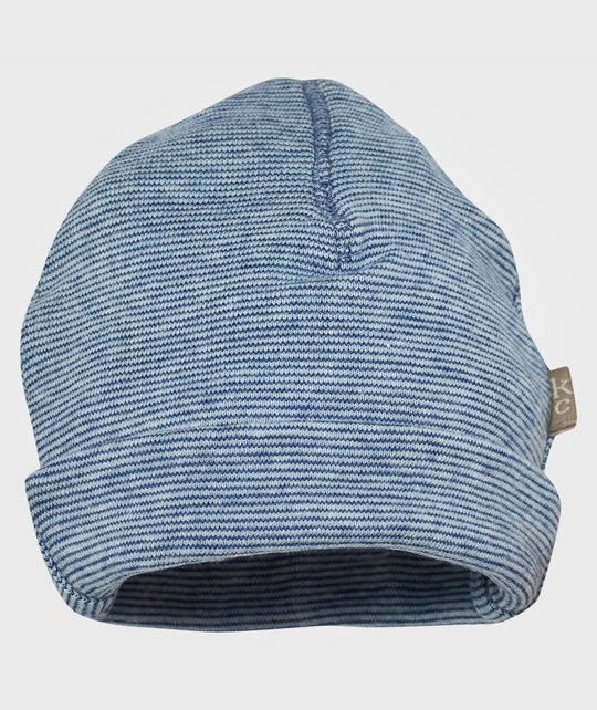 Kidscase Webb Organic Striped Hat Light Blue/Blue Blue