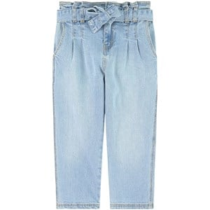 Image of Mayoral Paperbag Waist Jeans Blue 9 år (1841956)
