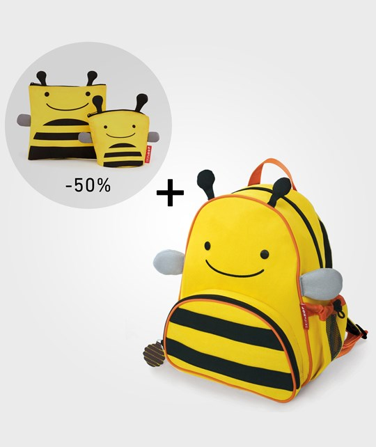 Skip Hop Zoo Pack+Snack Bag Bi Yellow