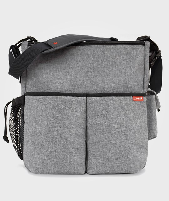 Skip Hop Duo Deluxe Heather Grey Black