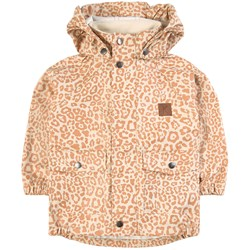 Kuling Дождевик Edinburgh Recycled Rain Jacket Cookie Leopard