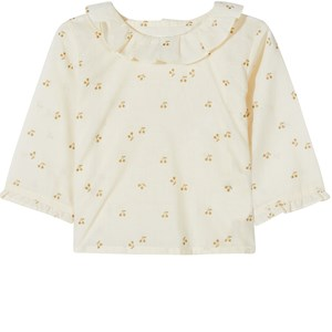 Image of Bonpoint Cherry Print Top Hvid 12 mdr (1651252)