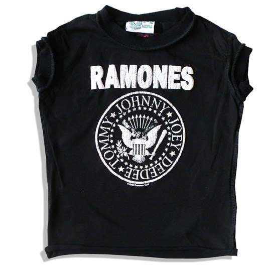 Amplified Kids Tee Ramones Black Black