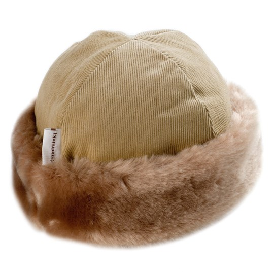 Minimink Hat Honey BROWN
