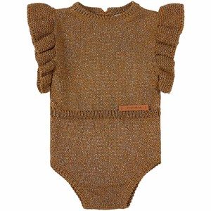 Image of Piupiuchick Knitted Romper Golden 24 mdr (1737354)