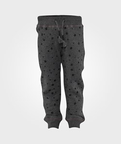 Replay Pants Melange Dark Grey