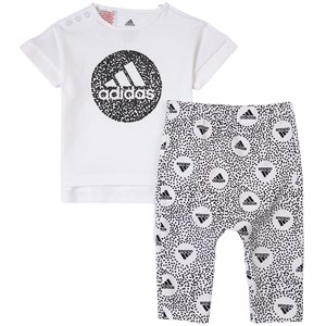 Image of adidas Performance 2-piece T-Shirt And Pants Set 6-9 months (74 cm) (1765469)