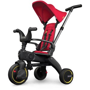 Image of Doona Liki S1 Trehjulet Cykel Flame Red 10 months - 3 years (1404628)
