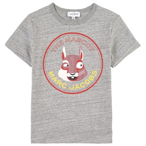 Image of The Marc Jacobs Branded T-Shirt Gray Melange 4 år (1807286)