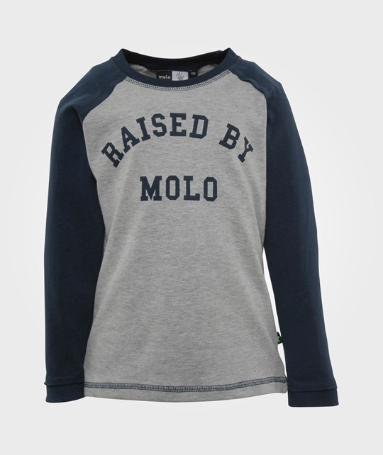 Molo Roger Top LS Indigo Navy Blue