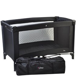 2ME Travel Bed Black