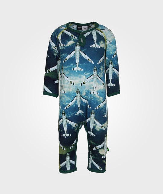Molo Fleming Bodysuit Airplanes Multi