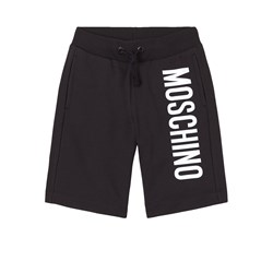 Moschino Kid-Teen Branded Shorts Svarta