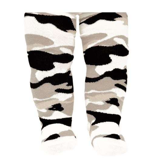 Trumpette Camo Tights White White
