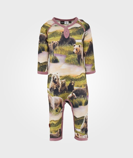 Molo Fiona Bodysuit Bear Multi