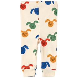 Mini Rodini Rabbits Multi Color Print Легинсы Бел