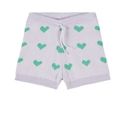 The Campamento Knitted Shorts Purple