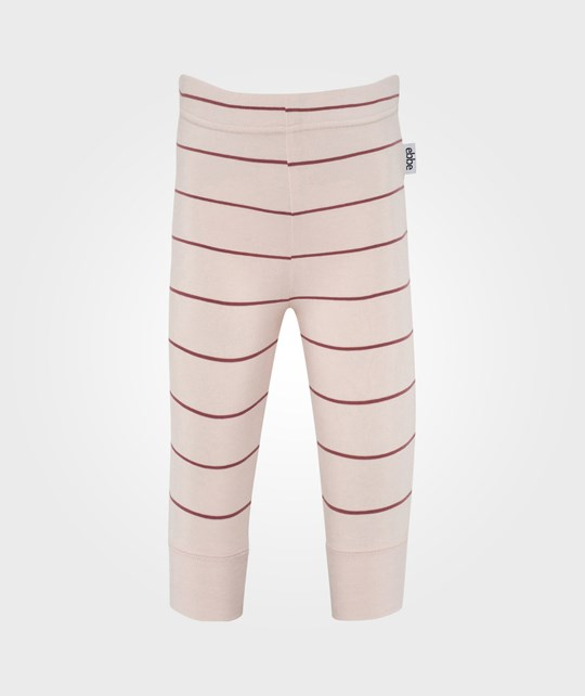 ebbe Kids Kiddi Babypants W Cuff Pink Nude/Heather Lilac Pink