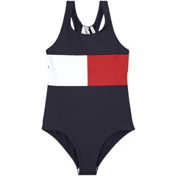 Tommy Hilfiger Flag Logo Swimsuit Navy