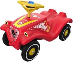 BIG Firefighter Bobby Car Ride-On Car Red