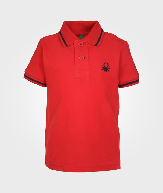United Colors of Benetton H/S Polo Shirt color 01A Multi