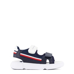 Tommy Hilfiger Stripe Logo Sandals Navy