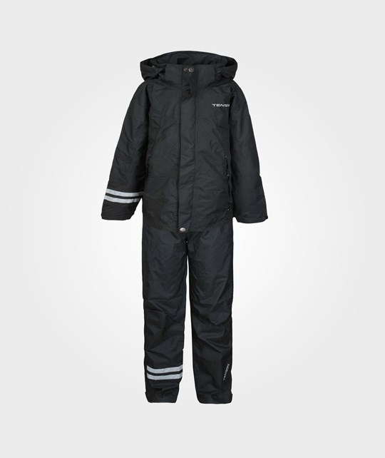 Tenson Jacket+pants Hurricane JR. Svart черный
