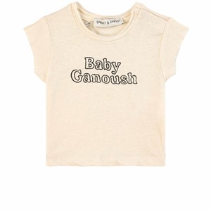 Image of Sproet & Sprout Baba Ganoush T-shirt Summer White 50-56 (0-3 months) (1835322)